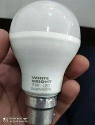 White Bright LED 7W