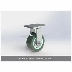 Antistatic Wheel Swivel ( Fix Type )