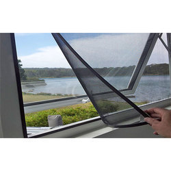 Black Mosquito Net Window