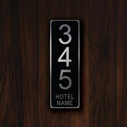 Hotel Name Plates