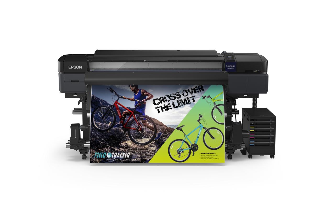 Epson SureColor SC-S60670 64 inch Eco-Solvent Signage Print...