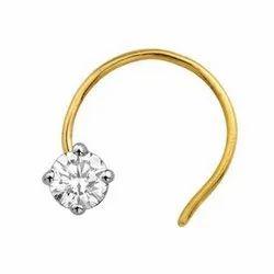 Girlish Gold Nose Rings Gender Male Rs 4150 Gram Bant Ram
