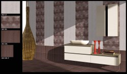 300x450 mm Decorative Kitchen Tiles