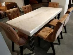 Onyx Marble Dining Table for Home