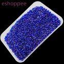Eshoppee 1kg Blue Color Glass Seed Beads 8/0
