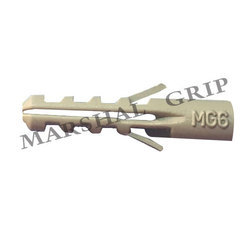 Marshal Grip (32x10) Grey Plastic Wall Plug