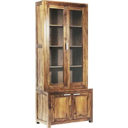 4 Compartment Wooden Cupboard