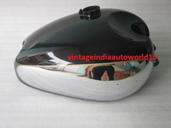 New Panther M100 M120 Chrome And Black Painted Gas Fuel Petrol Tank