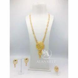 Designer Long Necklace Set