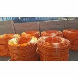 Orange HDPE Coil Pipe