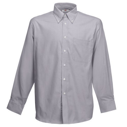 Grey Men Cotton Shirts