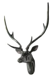 Large Deer Head Figurine Wall Stag Head Animal Statue