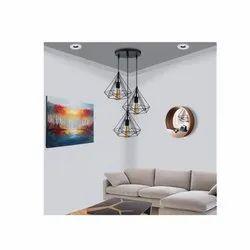 Aluminium Brown Fancy Ceiling Lights