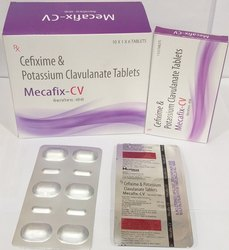 Cefixime 200mg Potassium Clavulanate  125mg Tablet