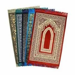 Multicolor Janamaz Mat, Size: 27 inch x 44 inch, Packaging Type: Packet