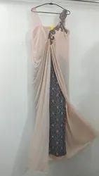 Ladies Western Party Gown, Size: Medium