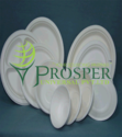 Biodegradable Sugarcane Bagasse Plates