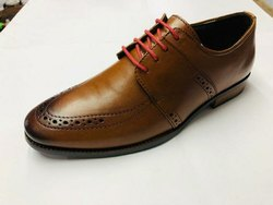 Brown Men Leather Shoes, Size: 6-11