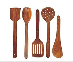 Sheesham Wooden Spatula Set