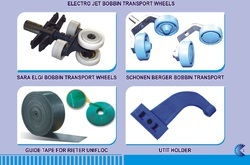 Textile spinning Bobbin Transport Wheels FOR SCHOLER , ELECTROJET,SARA ELGI , SCHONEN BERGER