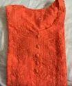 Orange Ladies Kurti