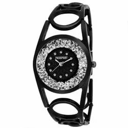 SS Black Ladies Watch