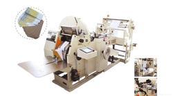 Paper Bag Making Machine With 2 Colour Flexographic Printing