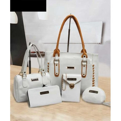 62fa6adbf0c Jimmy Choo White Ladies Combo Bags, Rs 800 /set, Sana Enterprises ...