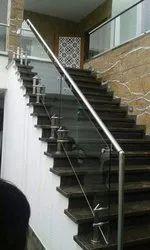 Balcony Polished Ss Railings, Mounting Type: Floor