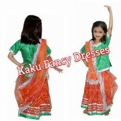 Kids Rajasthani Lehenga
