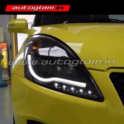 Maruti Suzuki Swift 2010 17 Drl Xenon Hid Projector Head Light
