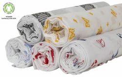 Organic Muslin Swaddles Fabric