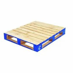 Solid Wood Square Pine Wood Pallet, For Packging