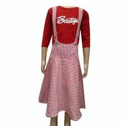 Girls Cotton Casual Dress