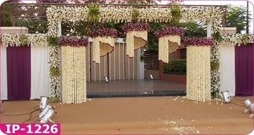 Artificial flower entry gate at rs 12000 set sarangpur artificial flower entry gate junglespirit Choice Image