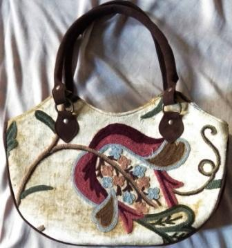 703c0b69d14c Hand Embroidered Leather Hand Bags