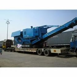 Crusher Machine Transportation Services