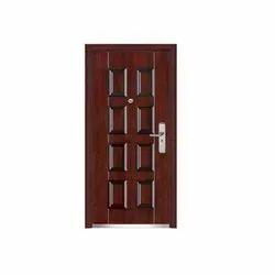 Exterior Pelicano Steel Security Door, Size: Height 2050 mm,Width 960 mm