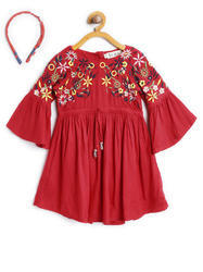 Cotton Bella Moda Embroider Dress