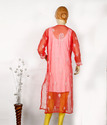 Chikan Hand Embroidered Ladies Kurti
