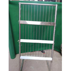 Stainless Steel 3 Row Magazine Stand