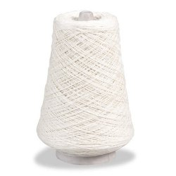 2/10 White Cotton Yarn Cones
