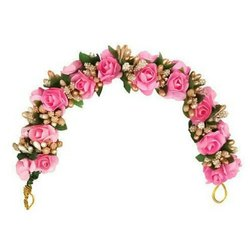 Pink Flower Hair Brooch