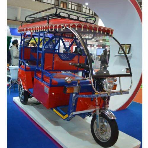 Mini Metro Expo E Rickshaw Charging Time 9 10 Hrs Speed 22 Kmph