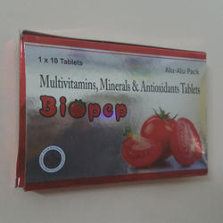 Multivitamins Minerals And Antioxidants Tablets