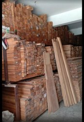 Teak Wood Round Logs and Cut Sizes