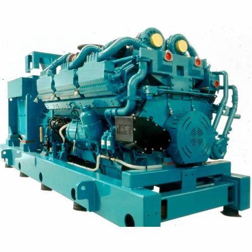 Industrial Power Diesel Generator, 415 V