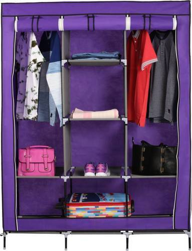 Fancy & Portable Collapsible Foldable Wardrobe Closet