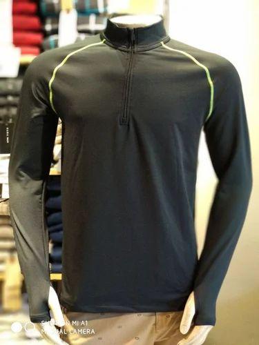 d39d3d47b Black Sports Fit T-Shirt, Rs 200 /piece, VNS Garments | ID: 18859883930