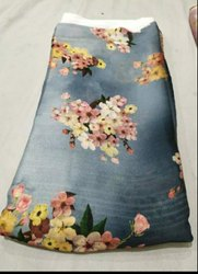 Printed 44 Inches Georgette Prints Fabric, for Suit
